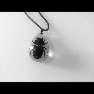Jewelry - Beatle Necklace